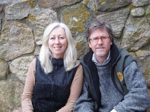 Andrew Harris and Sally Richardson