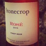Stonecrop's Pinot Noir Rosé